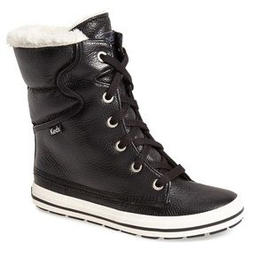 Women's Droplet Leather Boot